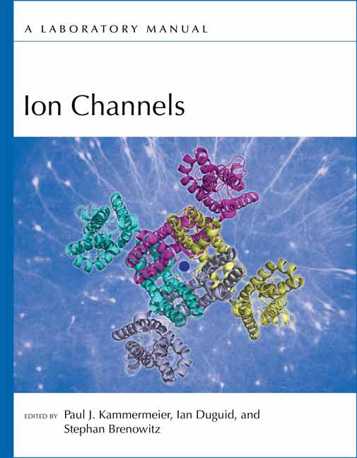 Ion Channels: A Laboratory Manual cover image