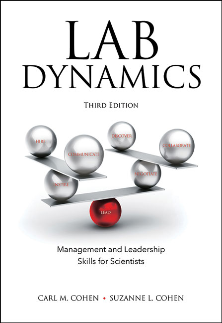 Lab Dynamics: Management and Leadership Skills for Scientists, Third Edition cover image